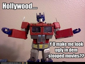 Optimus has to know..