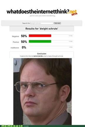 Poor Dwight