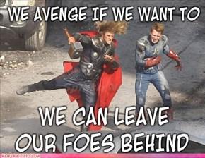 Avengers... DANCE!