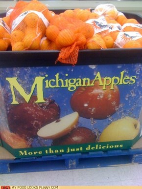 These Apples are So Juicy!