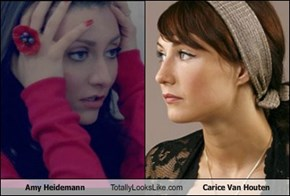 Amy Heidemann Totally Looks Like Carice Van Houten