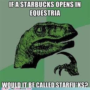 An Starbucks in Equestria