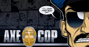 Axe Cop Cartoon News of the Day