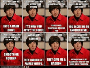 Howard's Nerdy Pick Up Lines