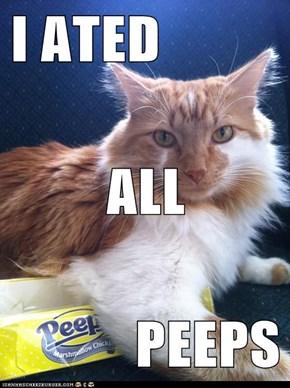 I ATED ALL PEEPS