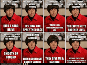 Howard pick up lines- ever so nerdy