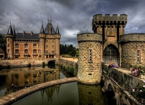 Ancient Castle, La Clayette, France