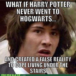 So Then, Voldemort Still Has a Nose?