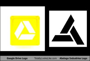 Google Drive Logo Totally Looks Like Abstego Industries Logo
