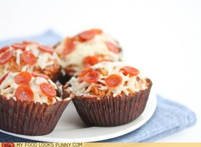 Pizza Cupcake is Adorable