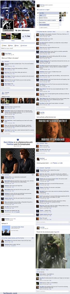 The Avengers' Timeline
