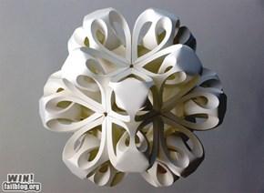Paper Snowflake WIN