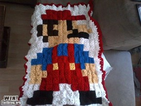 Super Mario Crochet WIN