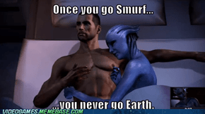 Once you go Smurf...