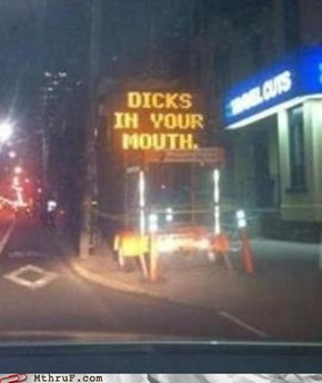 How Toronto Does Construction Signs