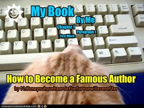 How to Become a Famous Author by N.Ooneyouhaveheardofbeforeorwilleverafter
