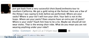 Choir Fails