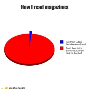 How I read magazines