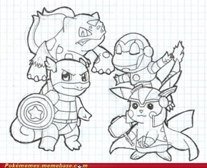 Pokemon Avengers.