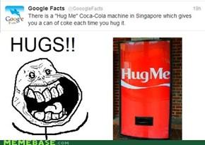 Free hugs!