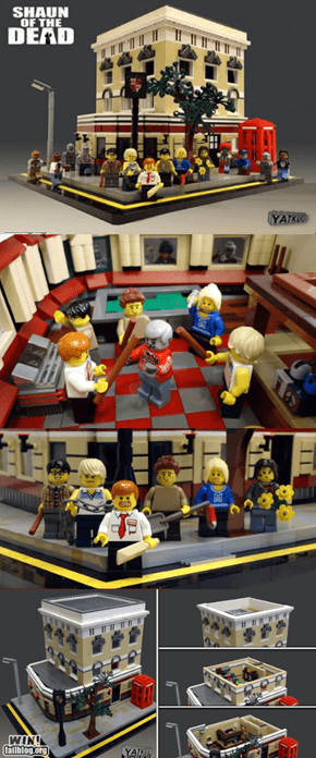 WIN!: Shaun of the Dead Legos WIN