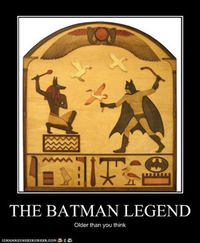 THE BATMAN LEGEND