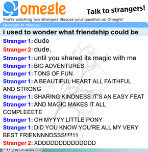 Bronies on omegle