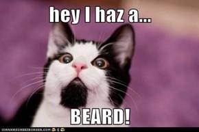 hey I haz a...  BEARD!