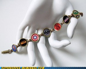 """The Avengers"" -- Coming to a wrist near you!"