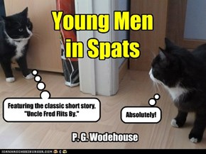 Wodehouse not to be missed