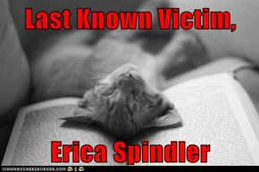 Last Known Victim,  Erica Spindler