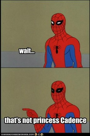 spidey knew all along.