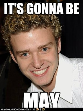 Seeing as today is the last day of April.....