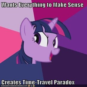Wants Everything to Make Sense  Creates Time-Travel Paradox