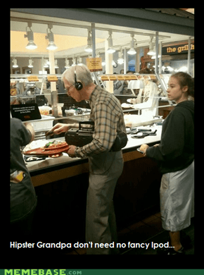 Hipster Grandpa