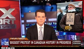 Canadian Protest FAIL