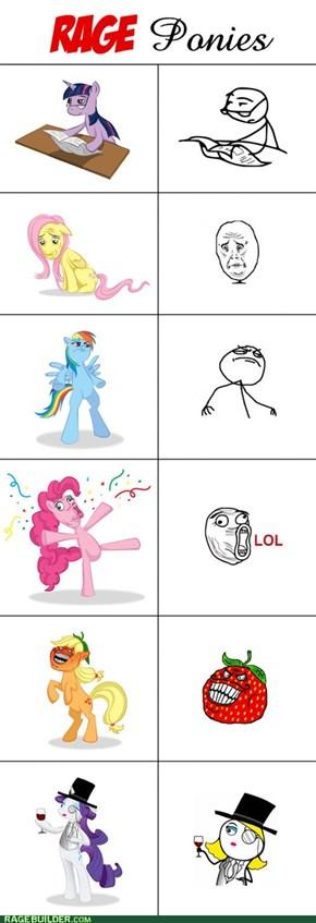 Rage Ponies