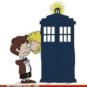 It's the Doctor, Charlie Brown!