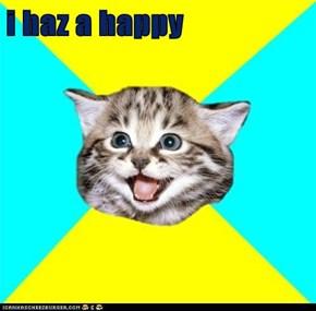 i haz a happy