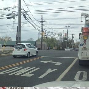 Disregard Traffic Laws, Acquire Accident