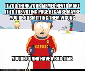 Not on the voting page?