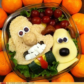 Wallace and Gromit Bento