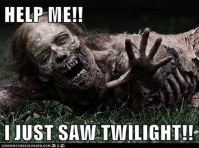 HELP ME!!  I JUST SAW TWILIGHT!!