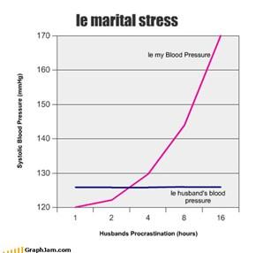 le marital stress