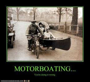 MOTORBOATING...