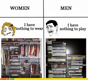 Women Logic vs. Men Logic