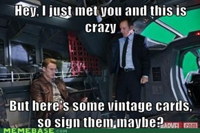 Agent Coulson: Ultimate Fanboy