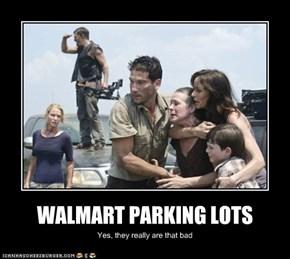 WALMART PARKING LOTS