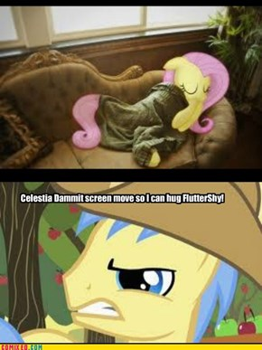 Fluttershy, MUCH MORE important than screens
