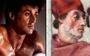 Sylvester Stallone Totally Looks Like This Cardinal